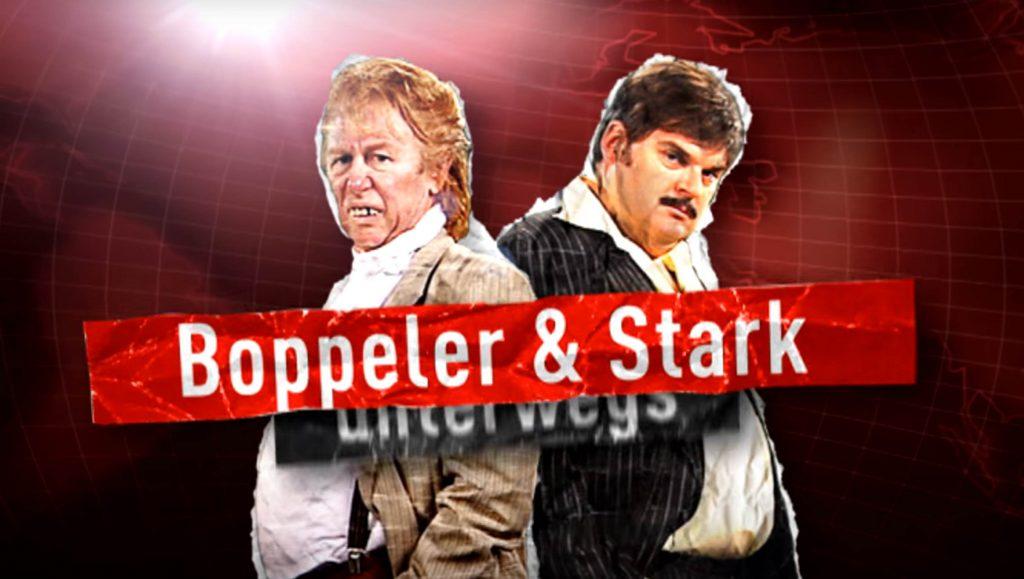 Boppeler und Stark unterwegs