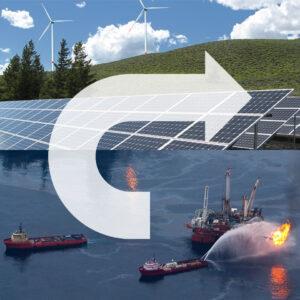 Fossile Energie ersetzen durch Sonne und Wind