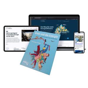 Globibuch, Webseite «Energie-Experten» im Hintergrund